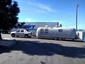 Airstream @ tow yard